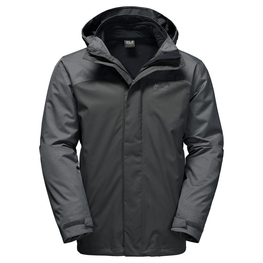 Jack Wolfskin Echo Lake Men dark iron-30