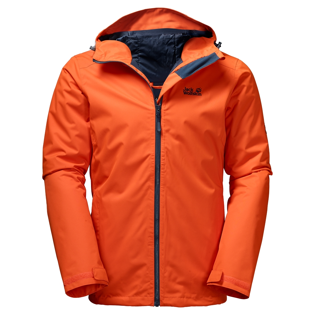 Jack Wolfskin Chilly Morning Men dark satsuma-30
