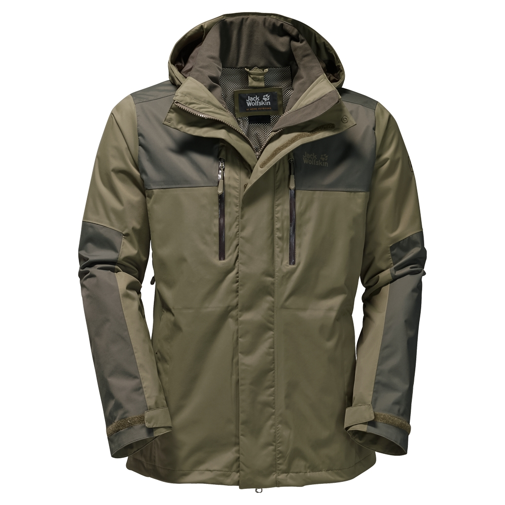 Jack Wolfskin Jasper Flex Men burnt olive-30