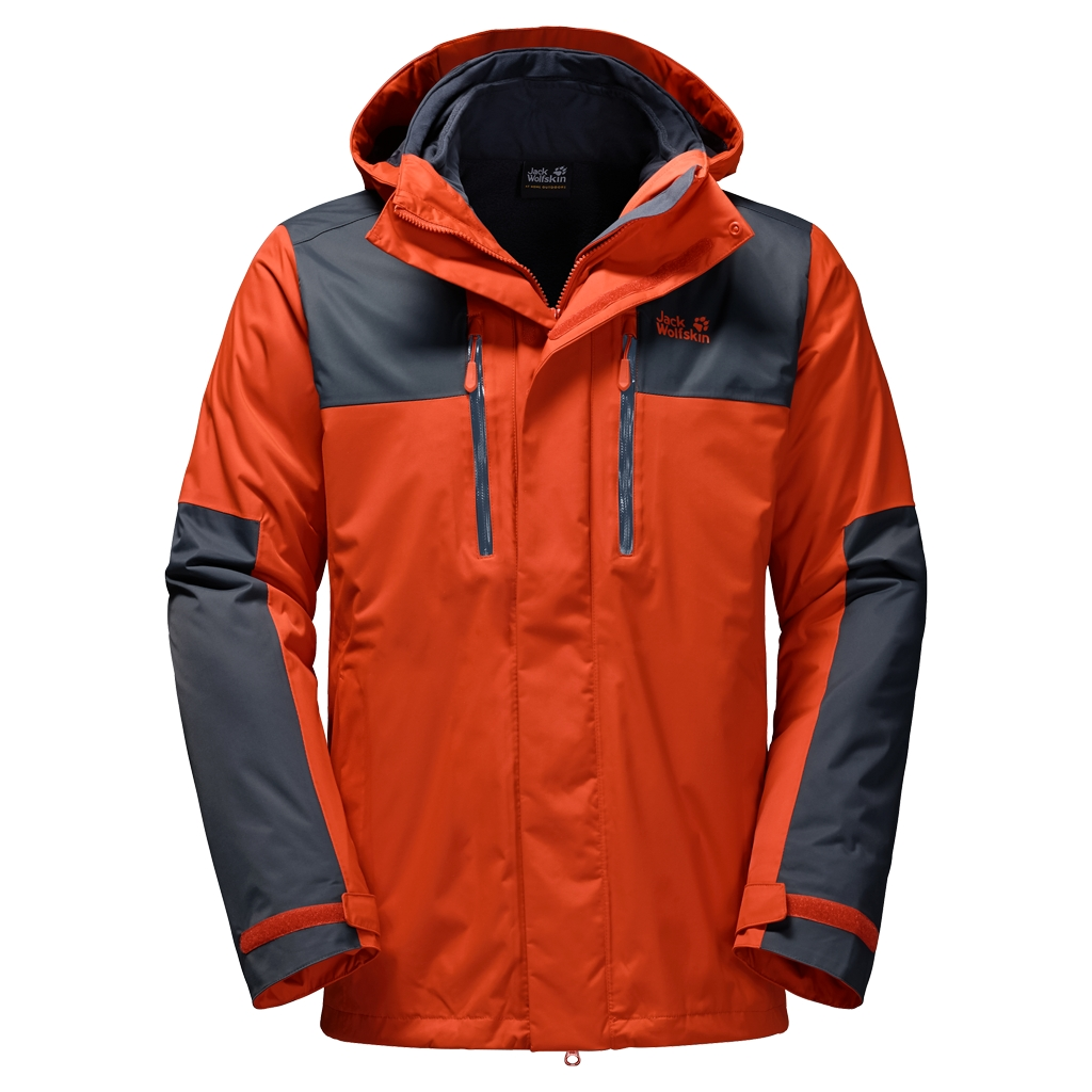 Jack Wolfskin Jasper 3In1 Men dark satsuma-30