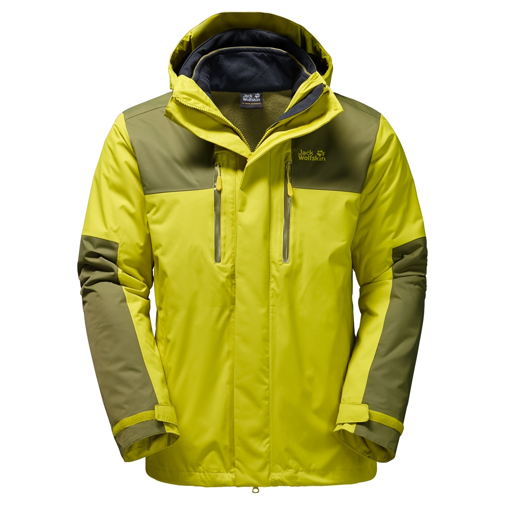 Jack Wolfskin Jasper 3In1 Men wild lime-30