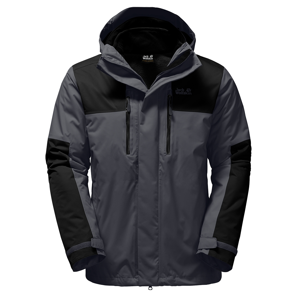 Jack Wolfskin Jasper 3In1 Men ebony-30