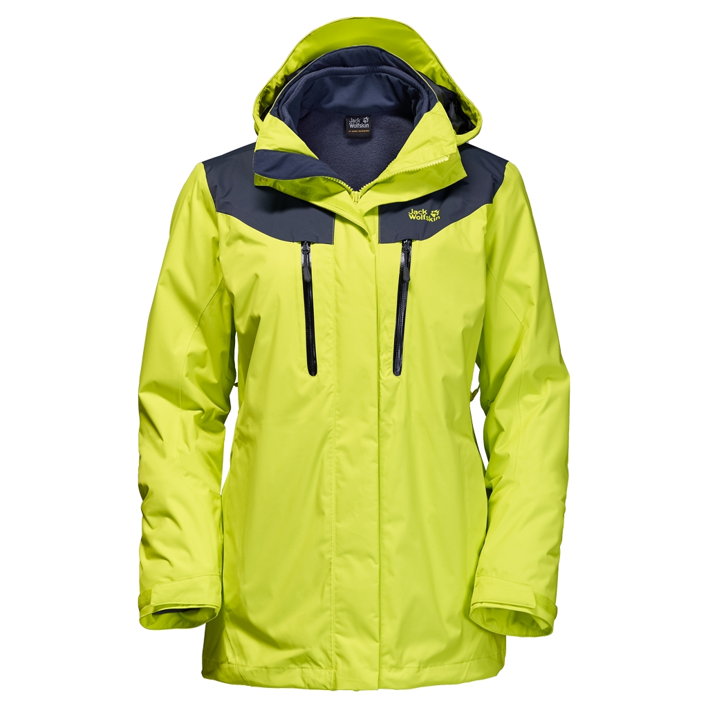 Jack Wolfskin Jasper 3In1 Women bright absinth-30