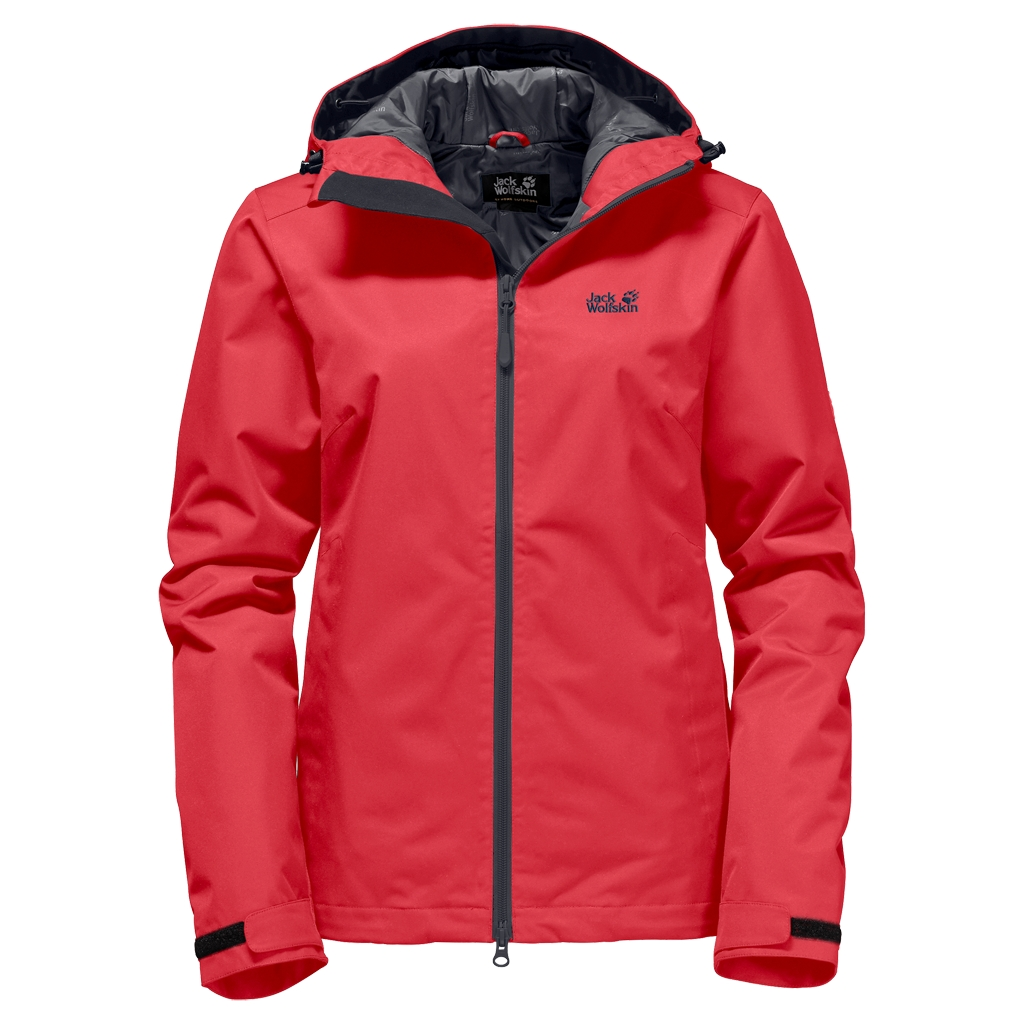 Jack Wolfskin Chilly Morning Women hibiscus red-30