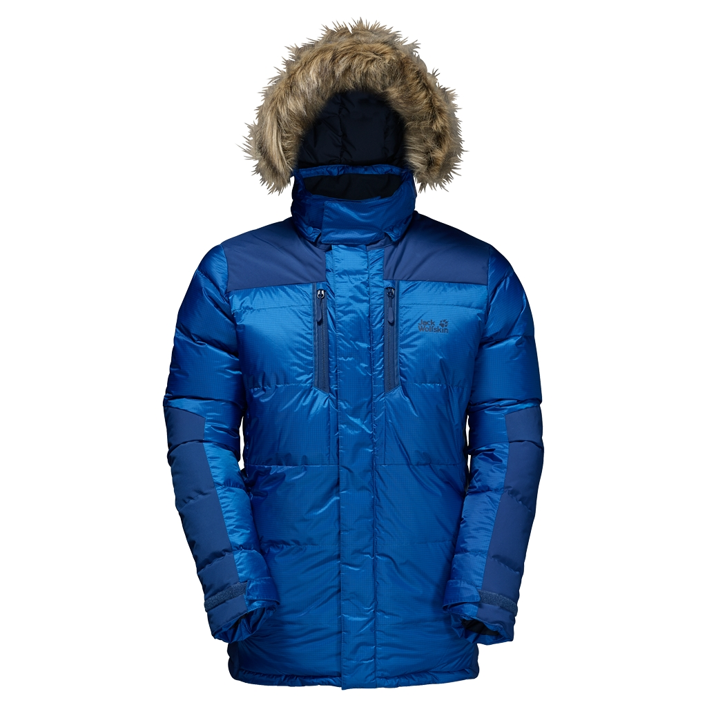 Jack Wolfskin The Cook Parka azure blue-30