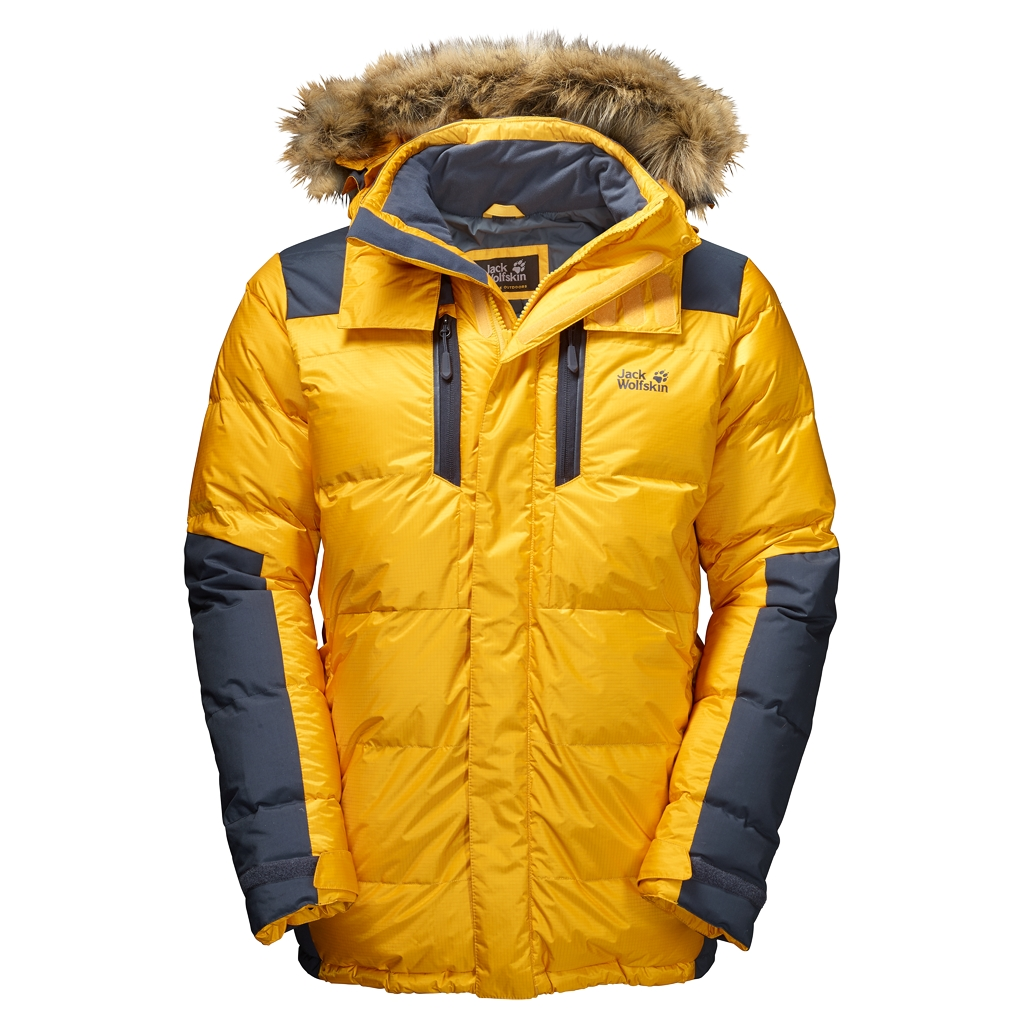 Jack Wolfskin The Cook Parka burly yellow XT-30