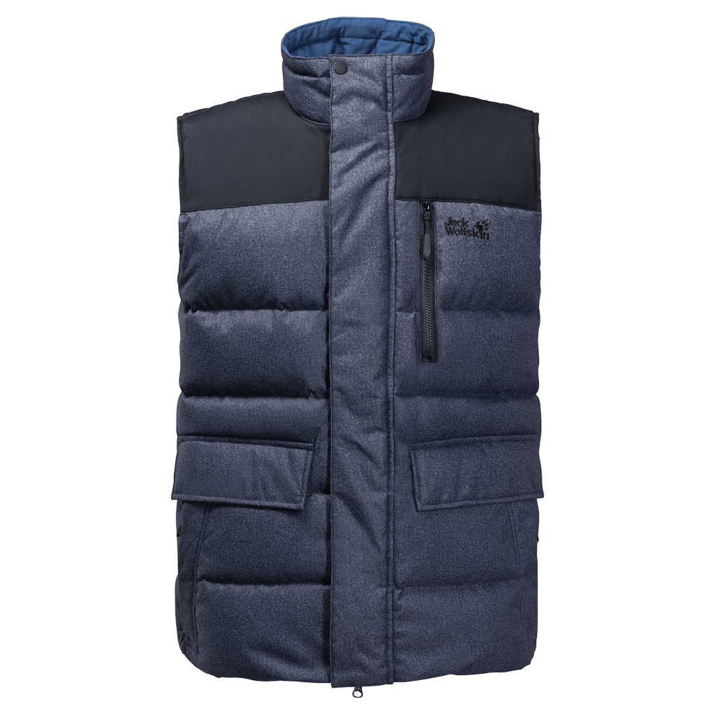 Jack Wolfskin Baffin Bay Vest Men night blue-30