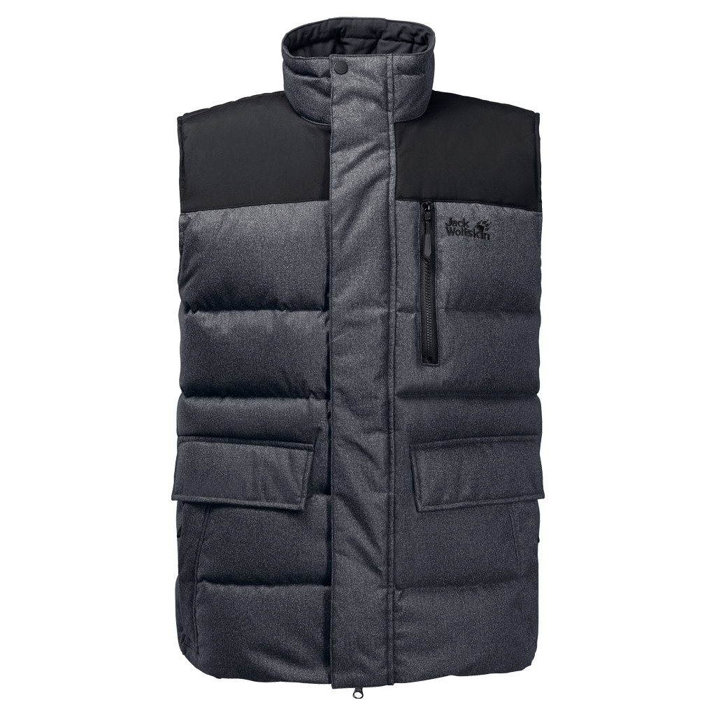 Jack Wolfskin Baffin Bay Vest Men black-30