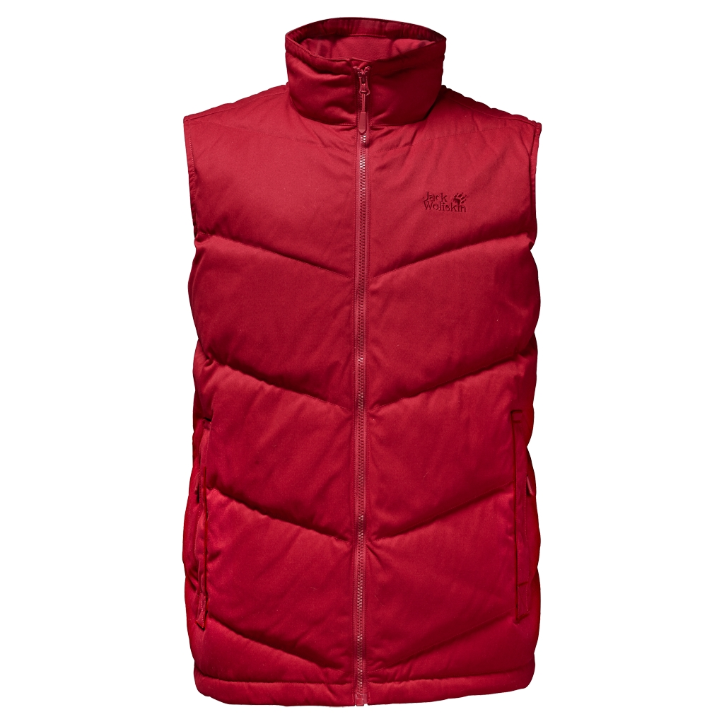 Jack Wolfskin Lakota Vest indian red-30