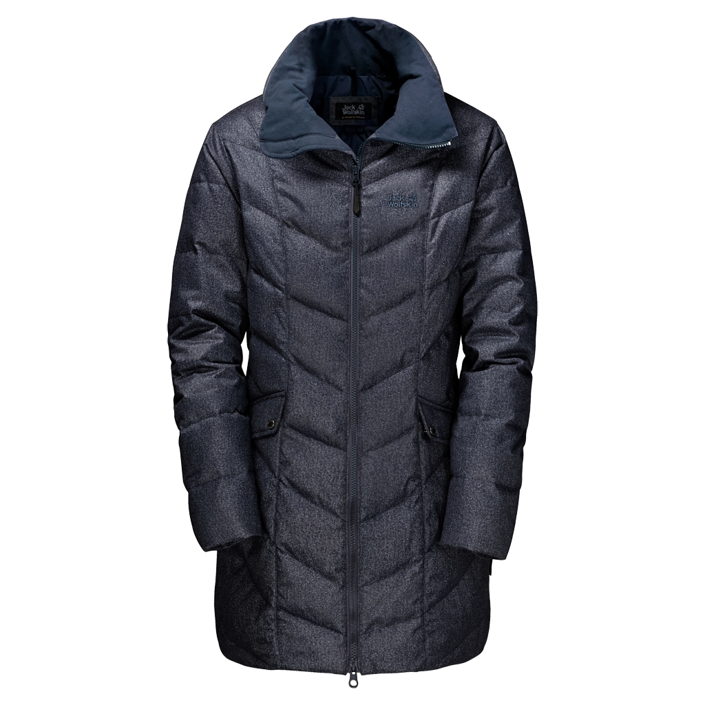 Jack Wolfskin Baffin Bay Coat Women night blue-30