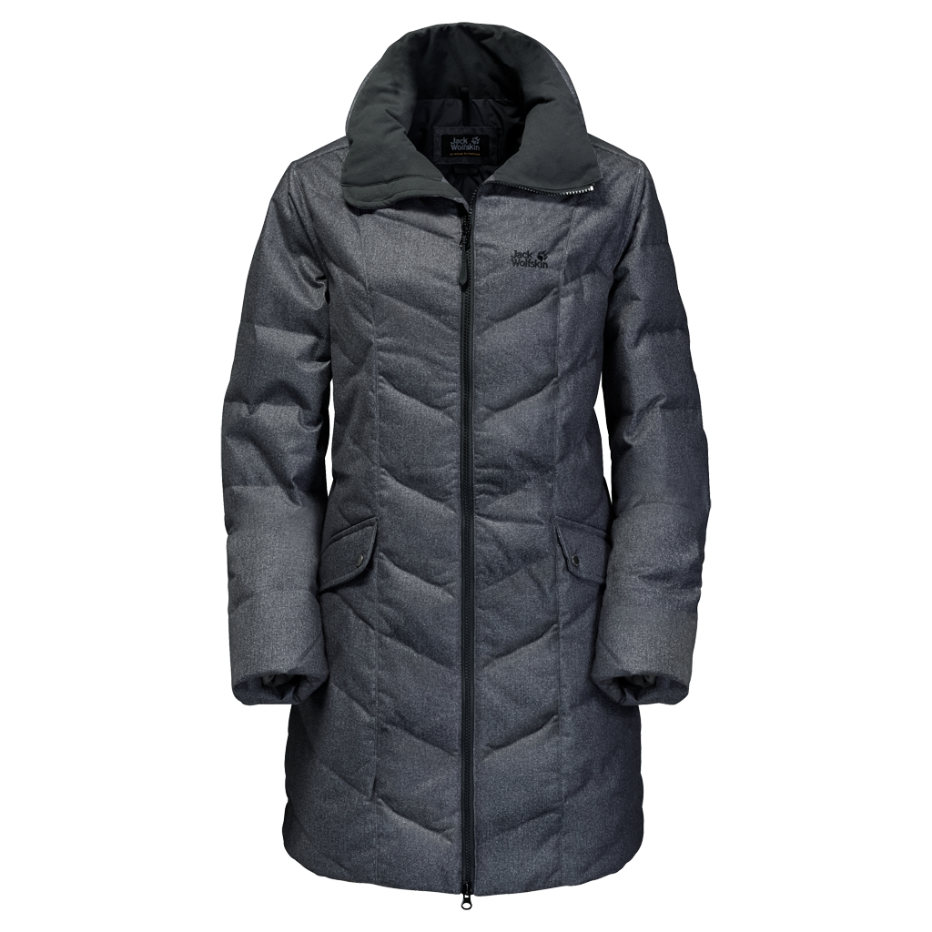 Jack Wolfskin Baffin Bay Coat Women black-30