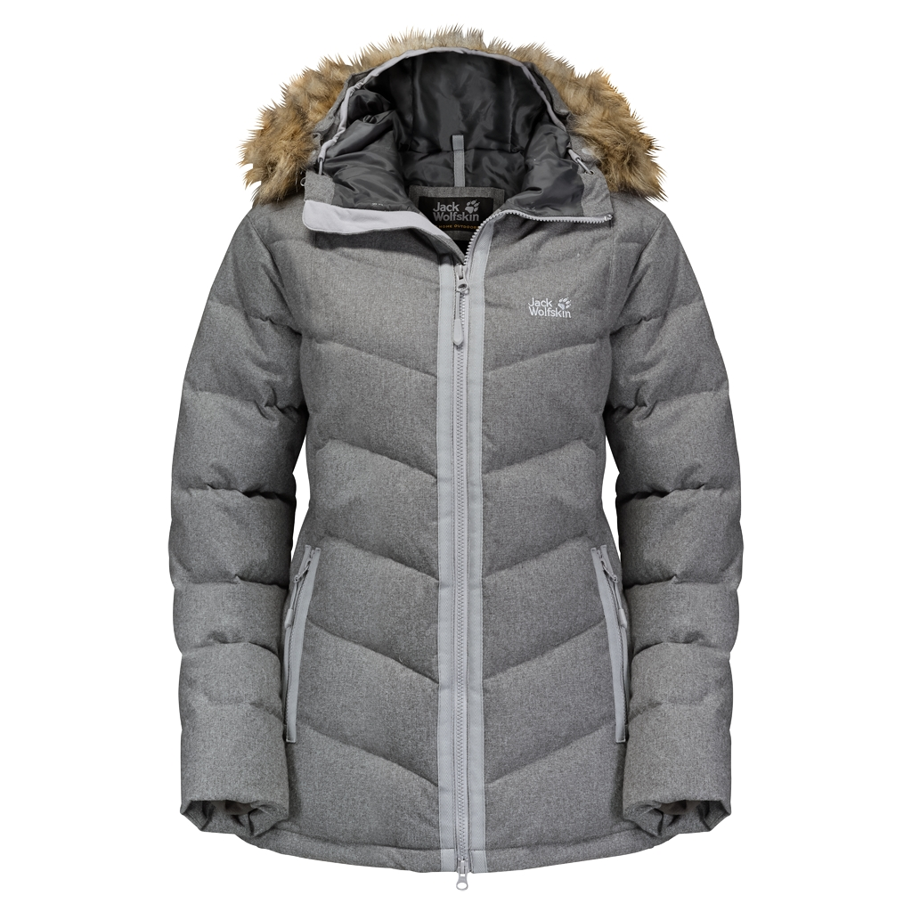 Jack Wolfskin Baffin Bay Jacket Women alloy-30