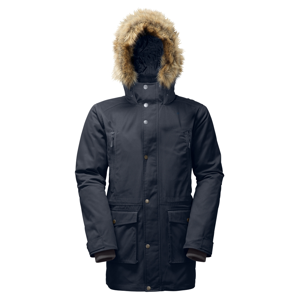 Jack Wolfskin Volcanic Mountain Parka night blue-30
