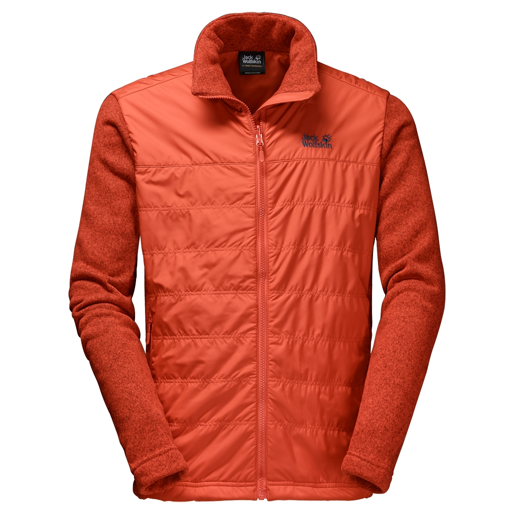 Jack Wolfskin Caribou Crossing Track Men dark satsuma-30