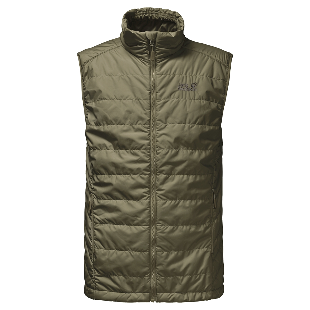 Jack Wolfskin Glen Vest Men burnt olive-30