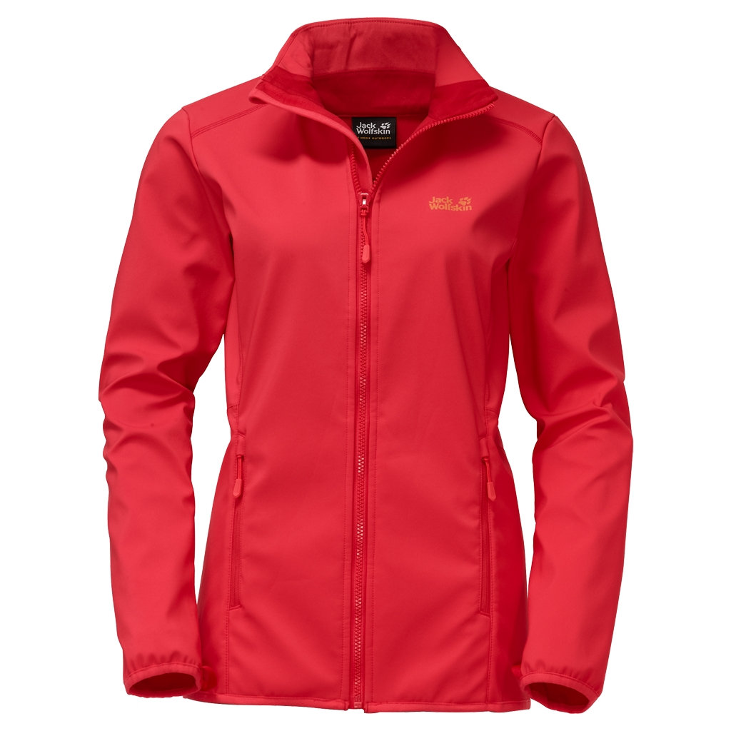 Jack Wolfskin Element Altis Women hibiscus red-30