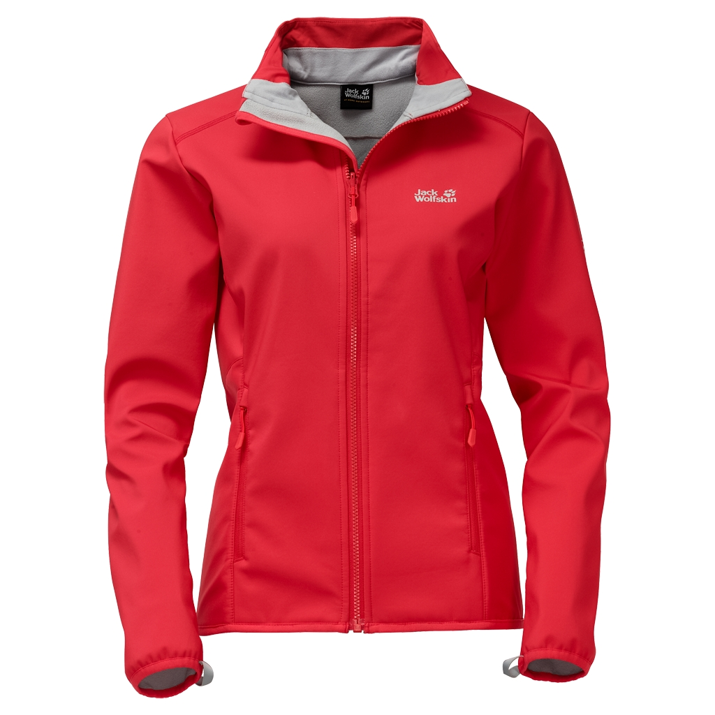 Jack Wolfskin Element Track Women hibiscus red-30