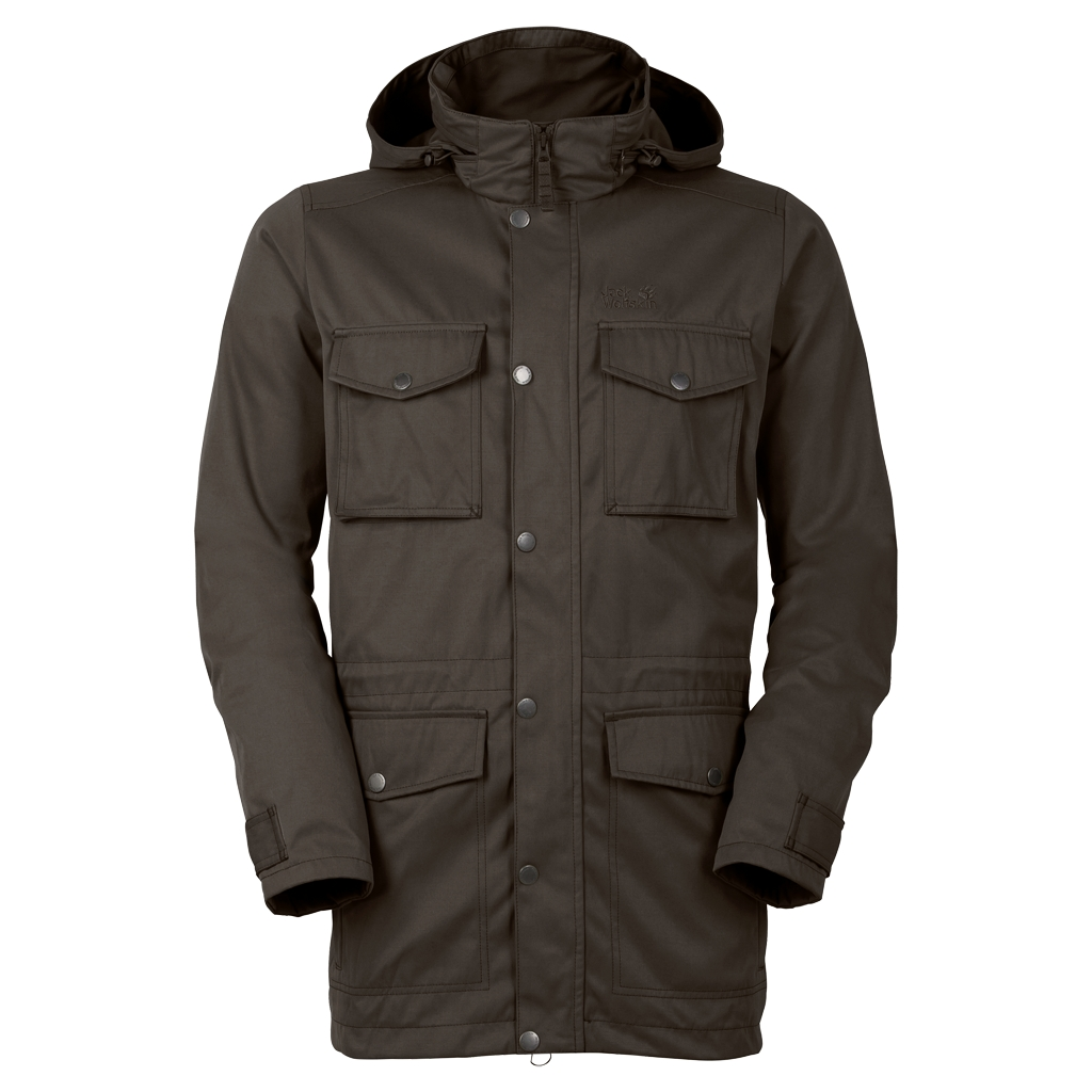 Jack Wolfskin Taiga Forest Parka olive brown-30