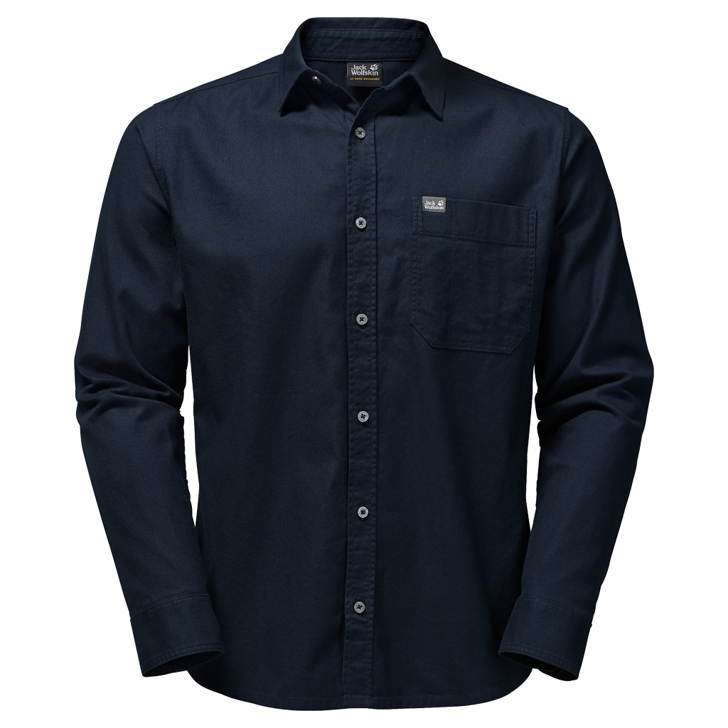 Jack Wolfskin River Shirt night blue-30