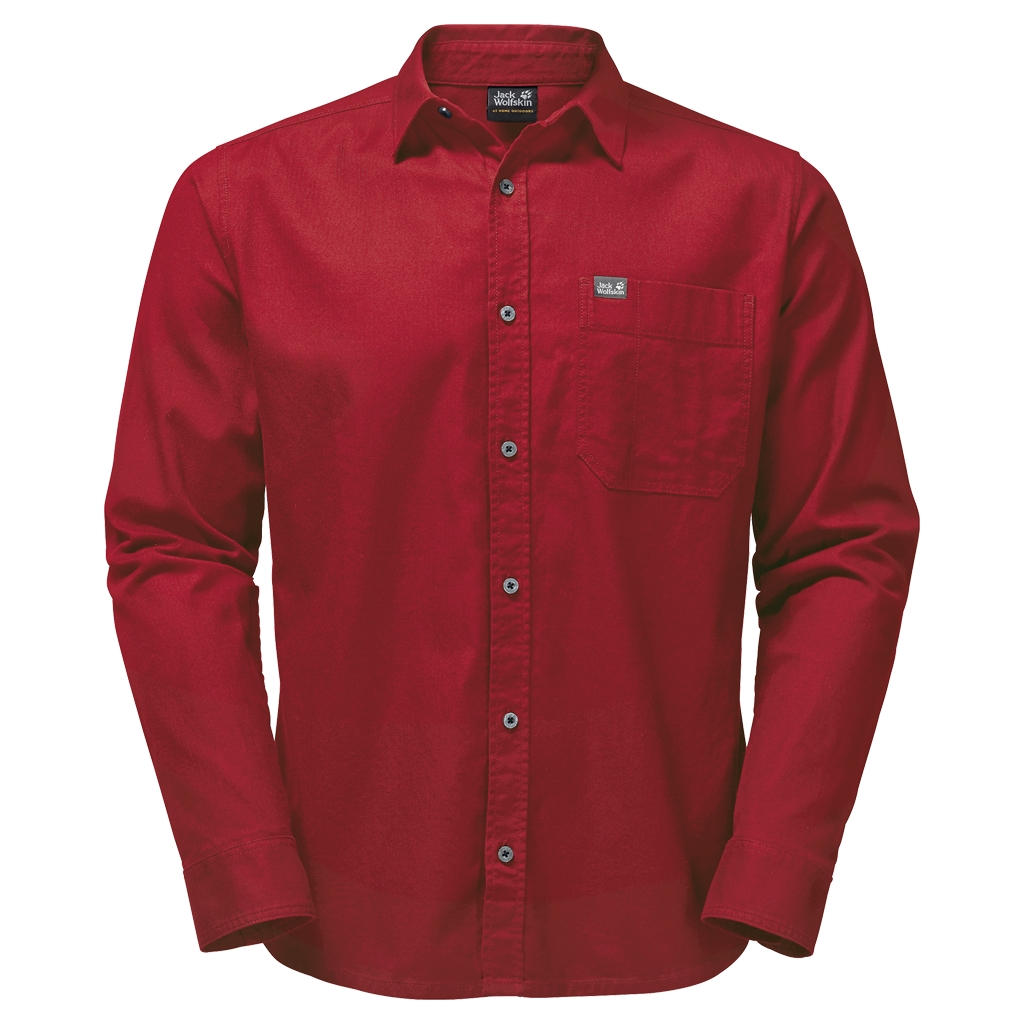 Jack Wolfskin River Shirt indian red-30