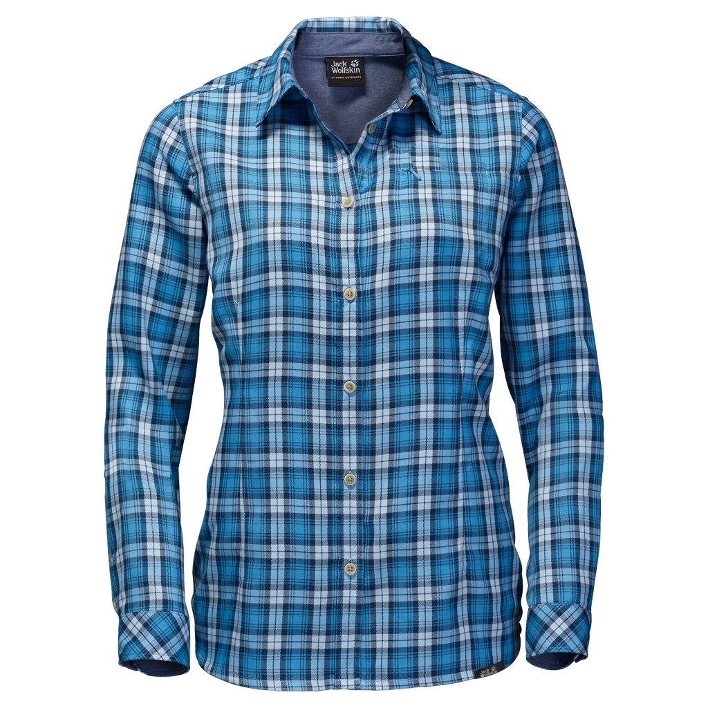 Jack Wolfskin Dorset Shirt light sky checks-30