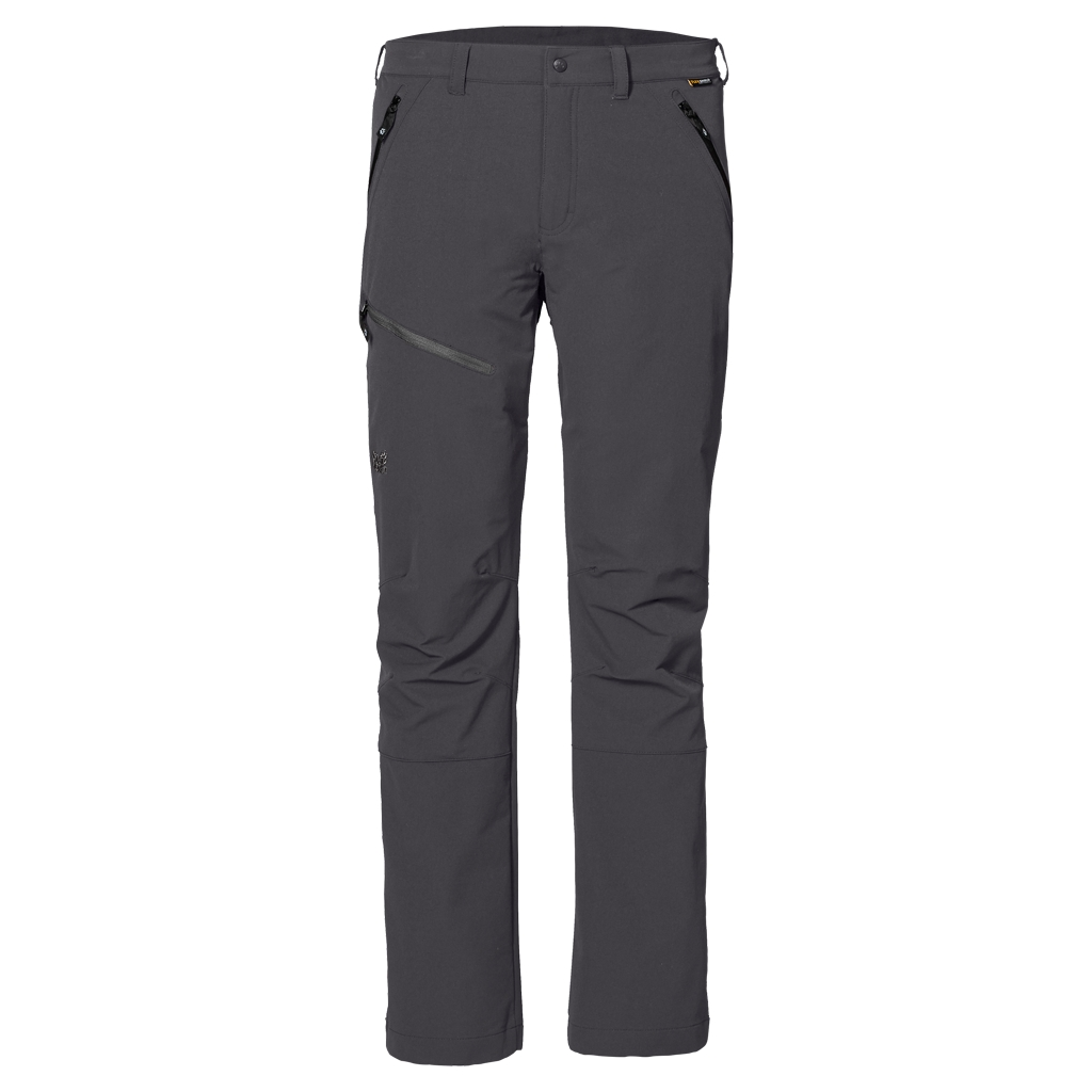 Jack Wolfskin Activate Pants Men dark steel-30