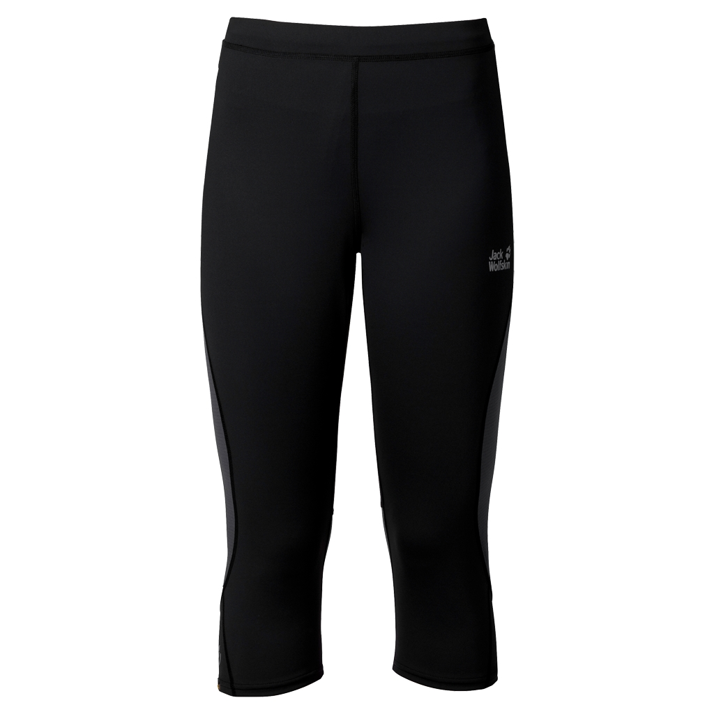 Jack Wolfskin Passion Trail 3/4 Tights Men black-30