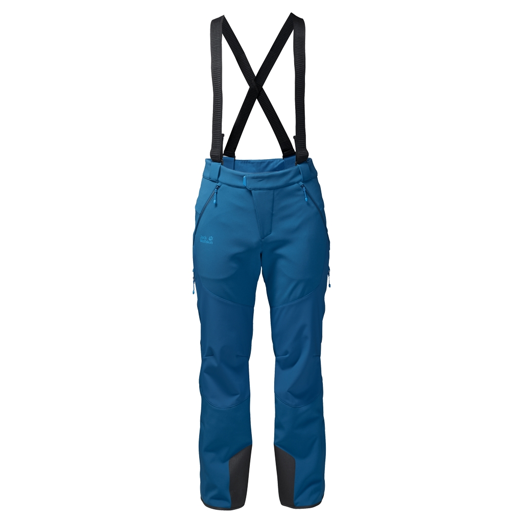 Jack Wolfskin Nucleon Pants Men glacier blue-30
