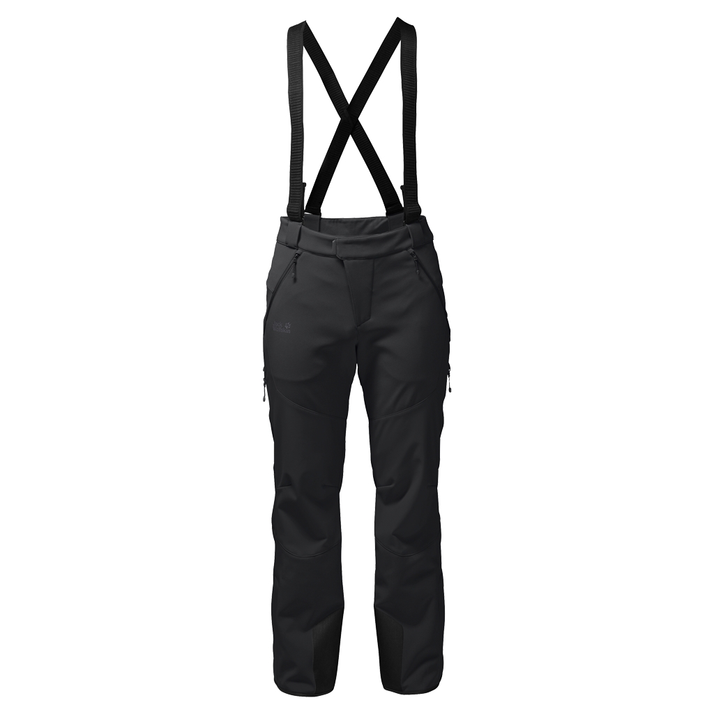 Jack Wolfskin Nucleon Pants Men black-30