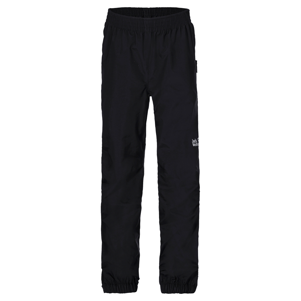 Jack Wolfskin Rain Pants Kids black-30