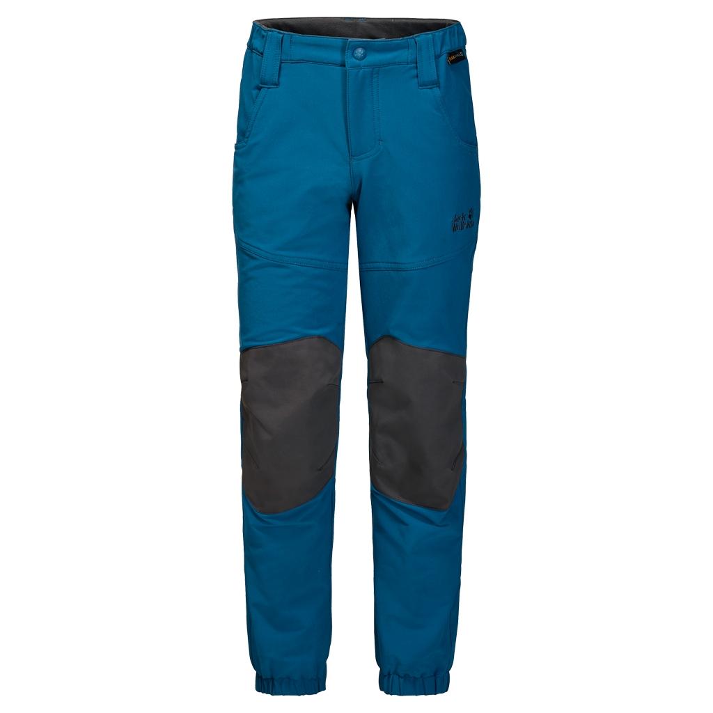 Jack Wolfskin Rascal Winter Pants Kids glacier blue-30