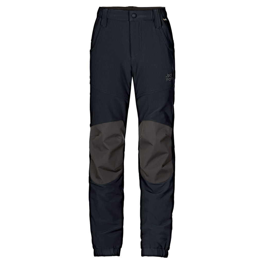 Jack Wolfskin Rascal Winter Pants Kids black-30