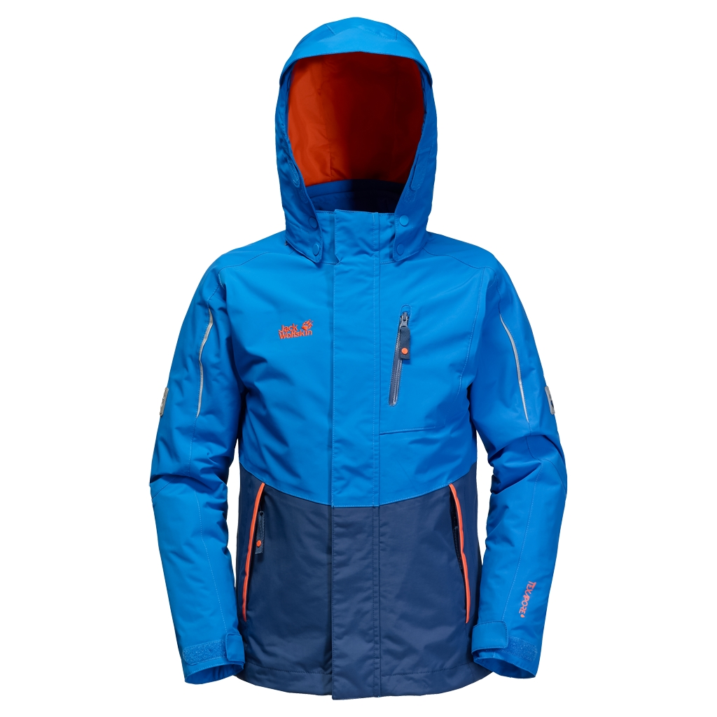 Jack Wolfskin Crosswind 3In1 Kids brilliant blue-30