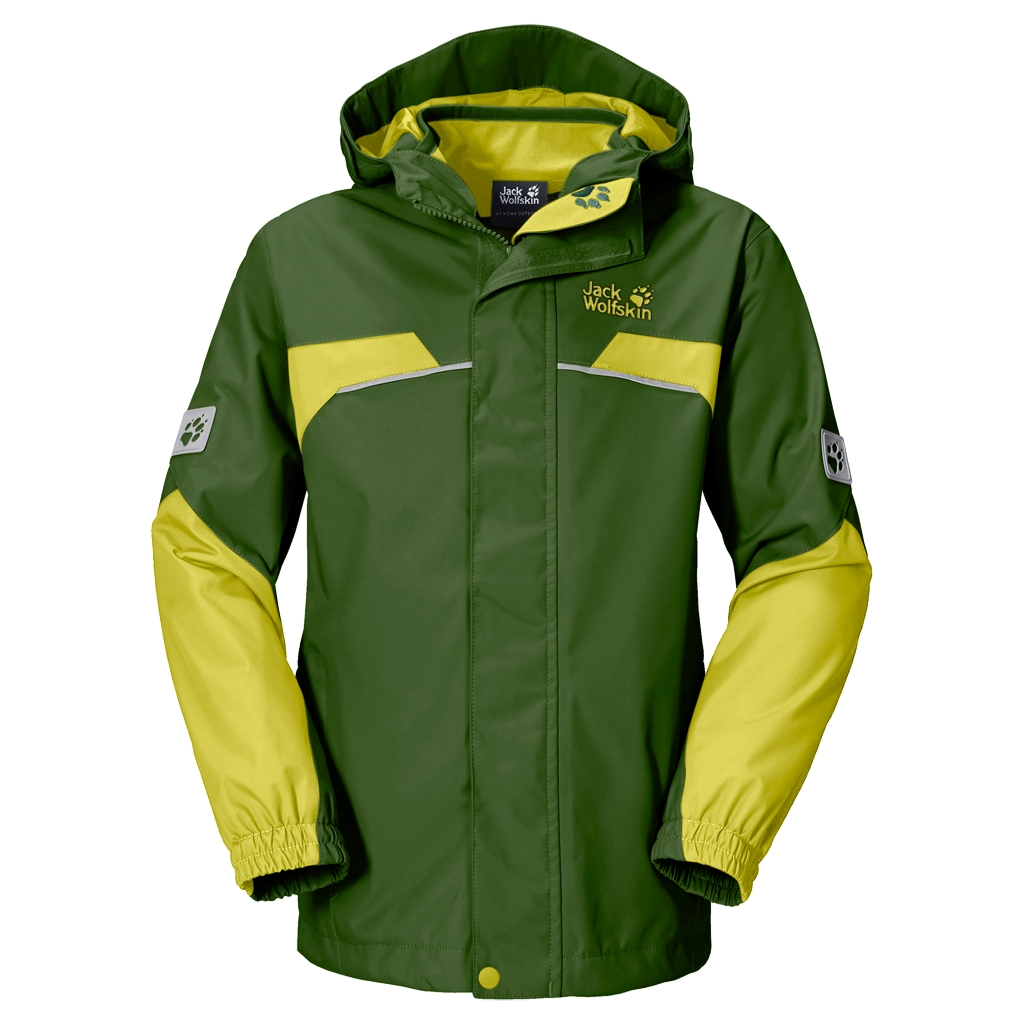 Jack Wolfskin Topaz 3In1 Boys deep forest-30