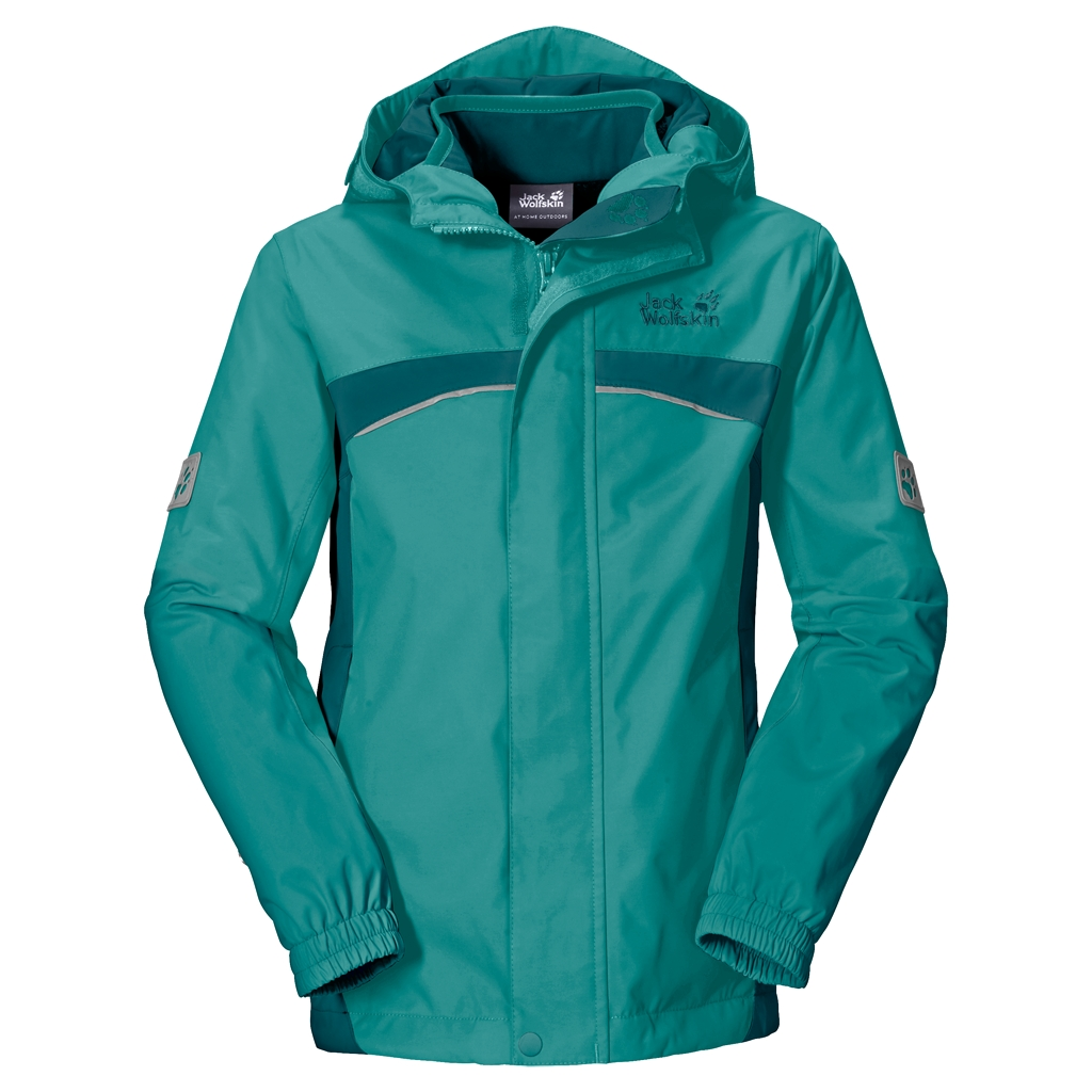 Jack Wolfskin Topaz 3In1 Girls spearmint-30