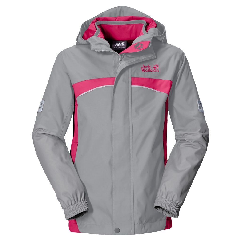Jack Wolfskin Topaz 3In1 Girls alloy-30
