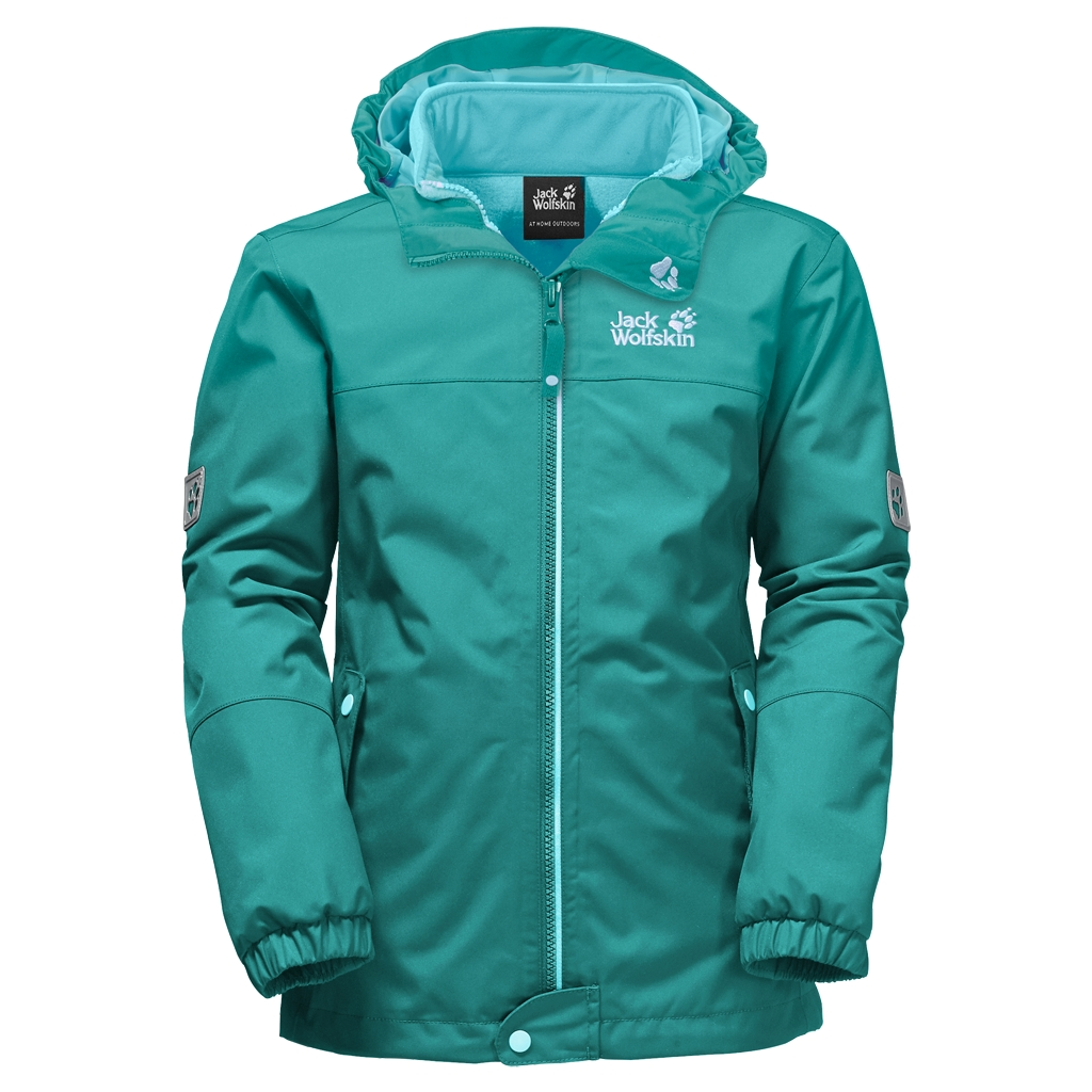 Jack Wolfskin Iceland 3In1 Girls spearmint-30