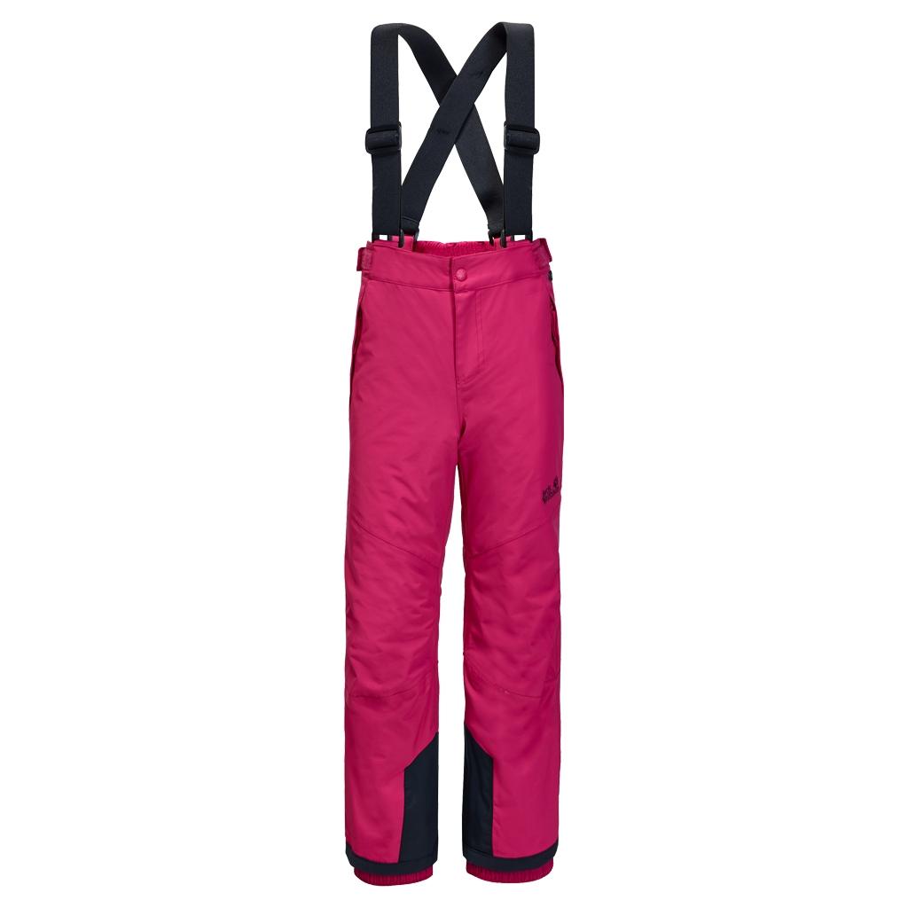 Jack Wolfskin Snow Ride Pants Kids azalea red-30