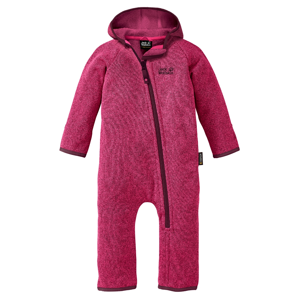 Jack Wolfskin Moonchild Overall Kids pink raspberry-30