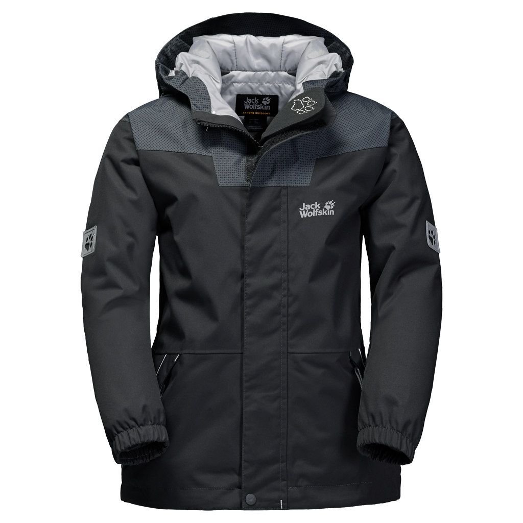 Jack Wolfskin Glacier Bay Jacket Boys phantom-30