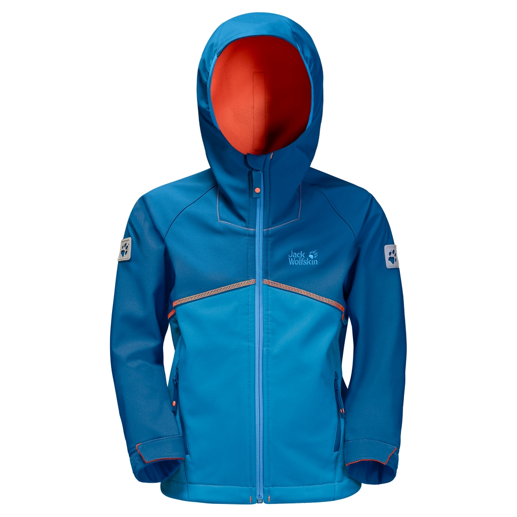 Jack Wolfskin Frosty Wind Jacket Boys brilliant blue-30