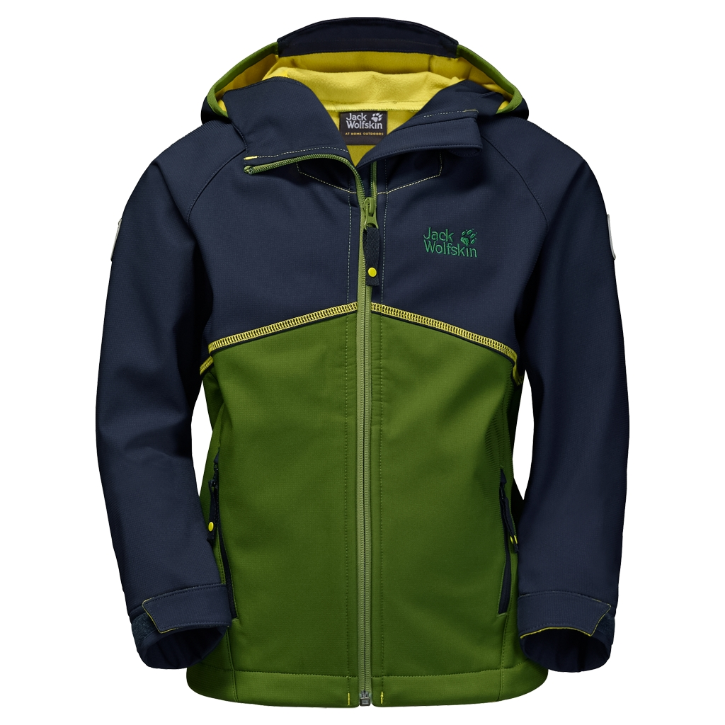 Jack Wolfskin Frosty Wind Jacket Boys deep forest-30
