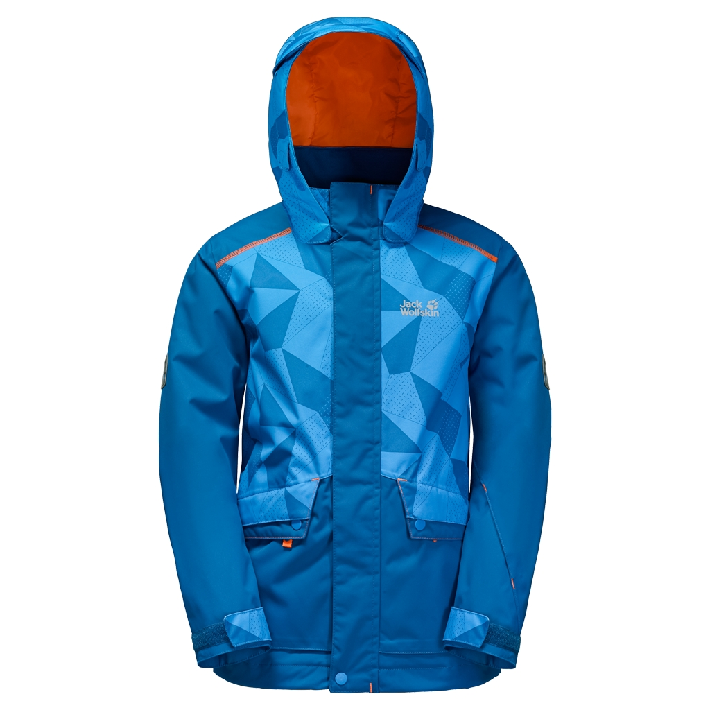 Jack Wolfskin Snow Ride Jacket Kids glacier blue-30