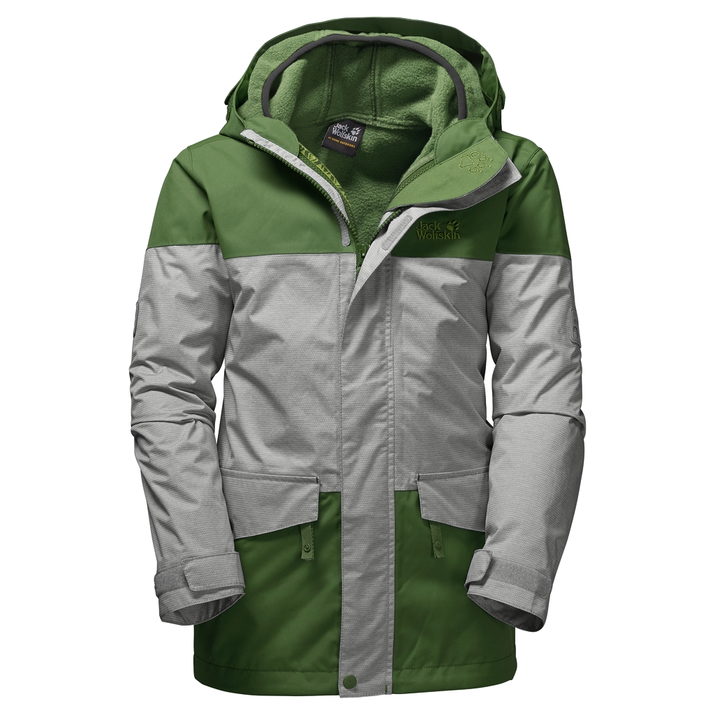 Jack Wolfskin Snowy Trail Boys deep forest-30