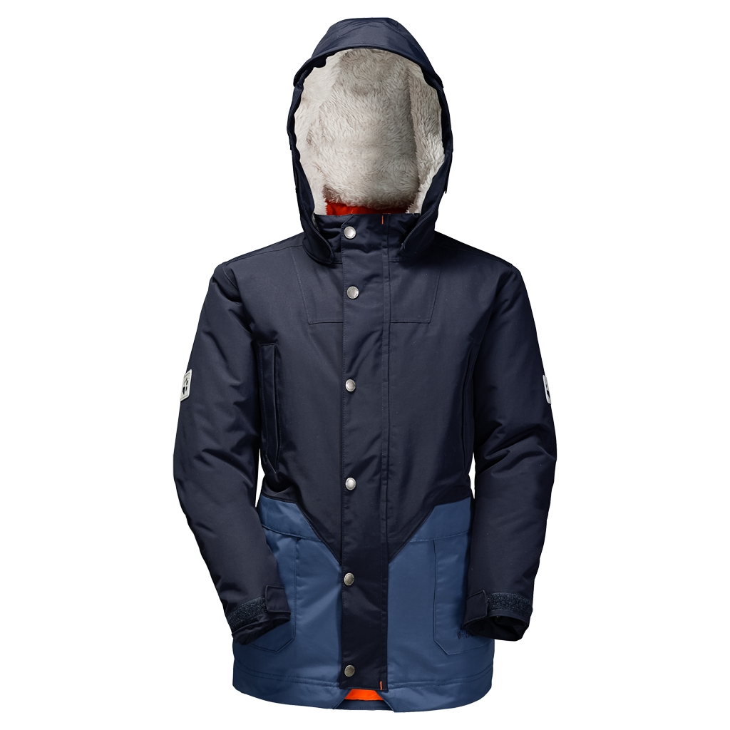 Jack Wolfskin Polar Bear Parka Boys night blue-30