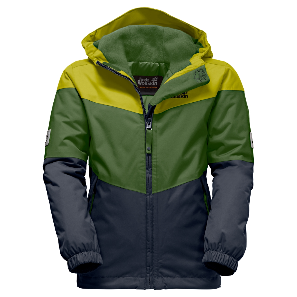 Jack Wolfskin Penguin Island Jacket Kids deep forest-30