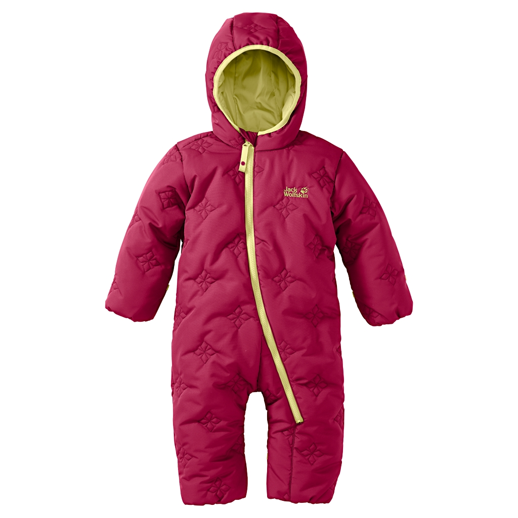 Jack Wolfskin Ice Crystal Overall Kids azalea red-30