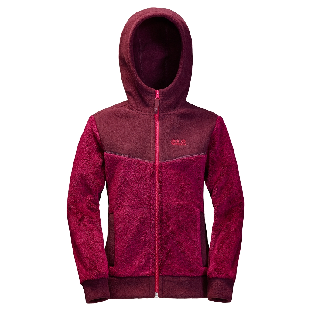 Jack Wolfskin Little Bear Girls azalea red-30