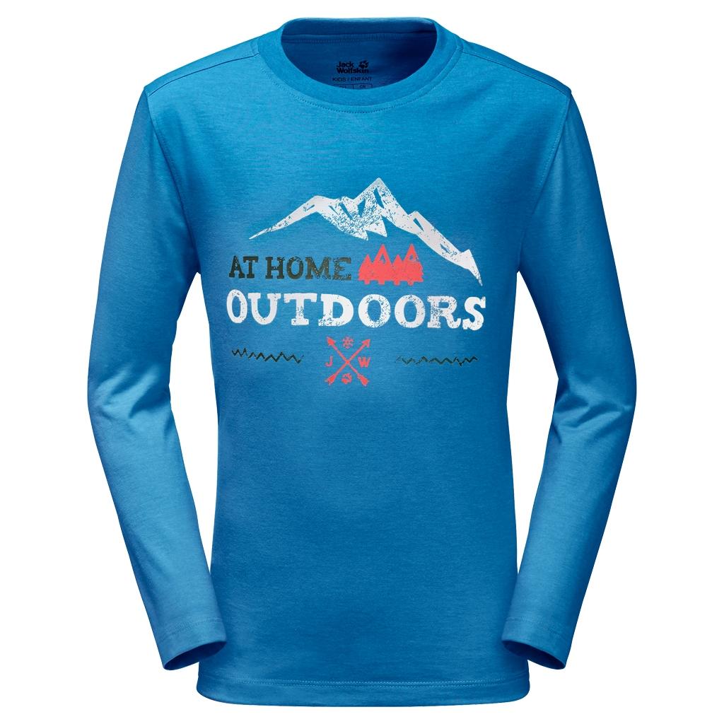 Jack Wolfskin Mountain Range Longsleeve brilliant blue-30