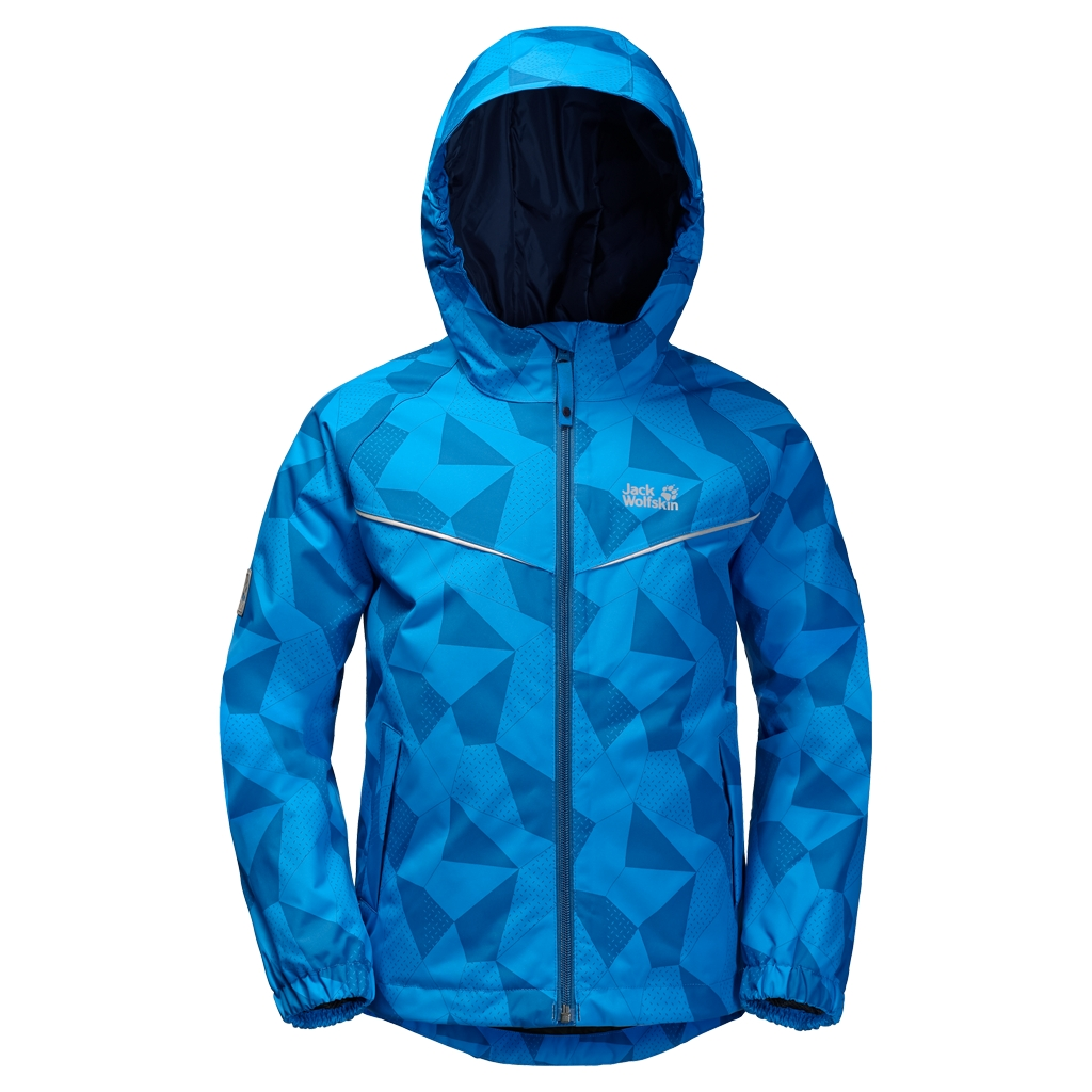 Jack Wolfskin Floating Ice Jacket Kids brilliant blue-30